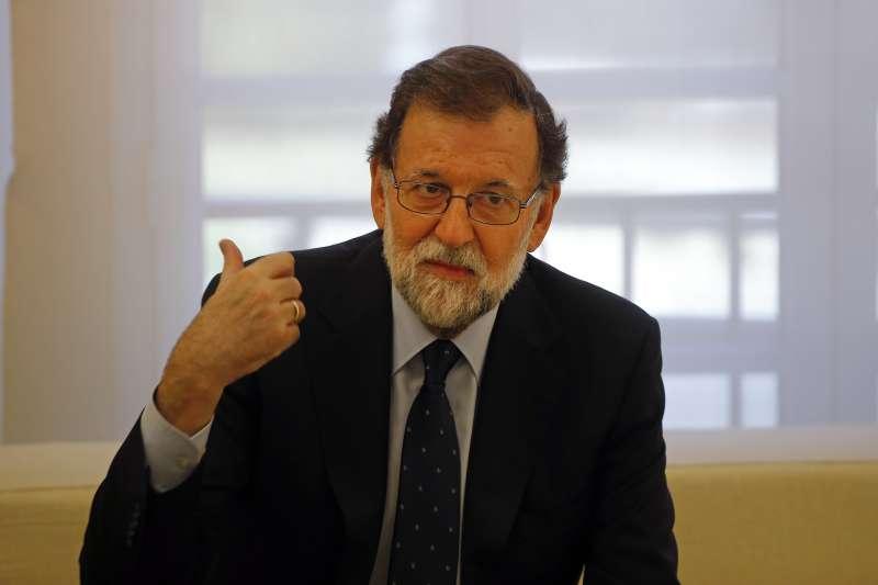 西班牙總理拉霍伊(AP)