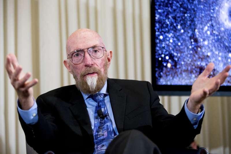 2017諾貝爾物理學獎得主、美國學者索恩(AP)