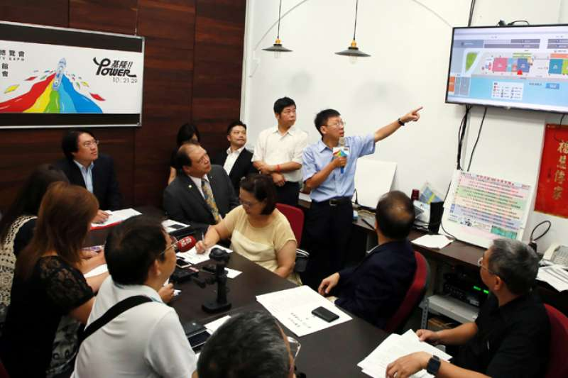 產博會智慧生活館吸引許多廠商參與。(圖/張毅攝)