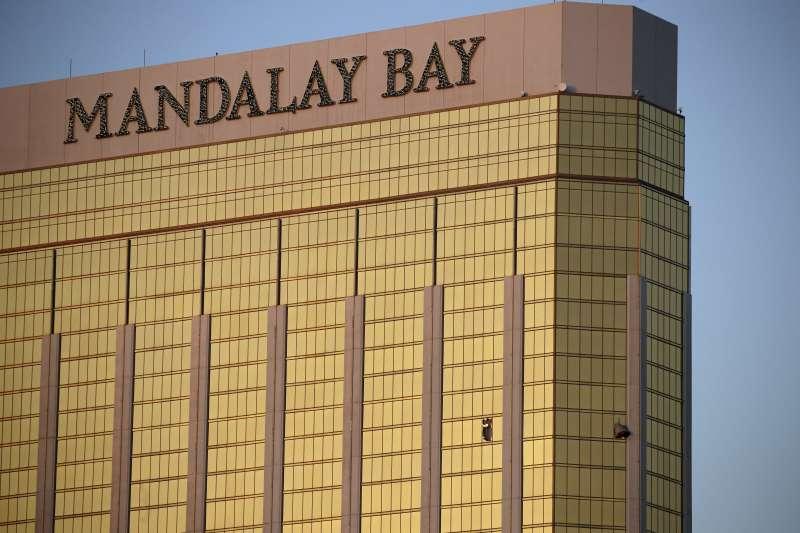 拉斯維加斯的曼德勒海灣度假村(Mandalay Bay Resort and Casino)(AP)