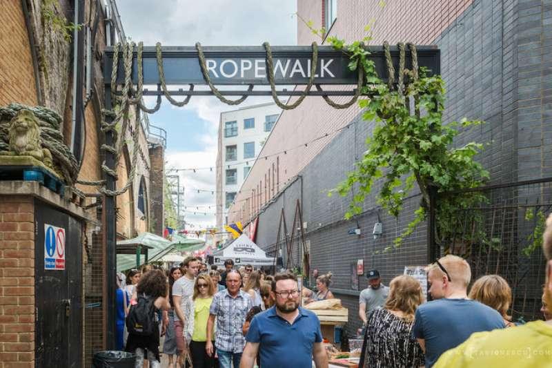 Maltby Street Market是倫敦最讓人回味的周末市集之一!(圖/取自Maltby Street Market網站)