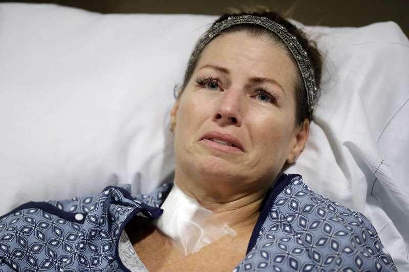 2017年10月1日,拉斯維加斯槍擊案的受害者(AP)