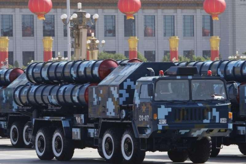 紅旗-9飛彈在中國國慶60週年閱兵式上亮相(2009年10月1日)