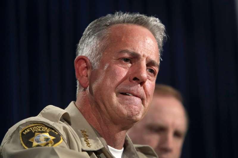 拉斯維加斯警長隆巴多(AP)