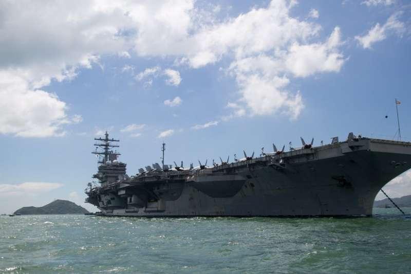 美國總統川普將於中共19大後正式訪華,隸屬美國第七艦隊的核動力航母雷根號訪問香港。為總統 「打前鋒」?