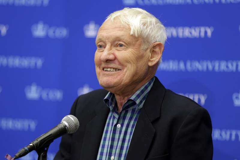 2017年諾貝爾化學獎得主,德國學者法蘭克(Joachim Frank)。(美聯社)