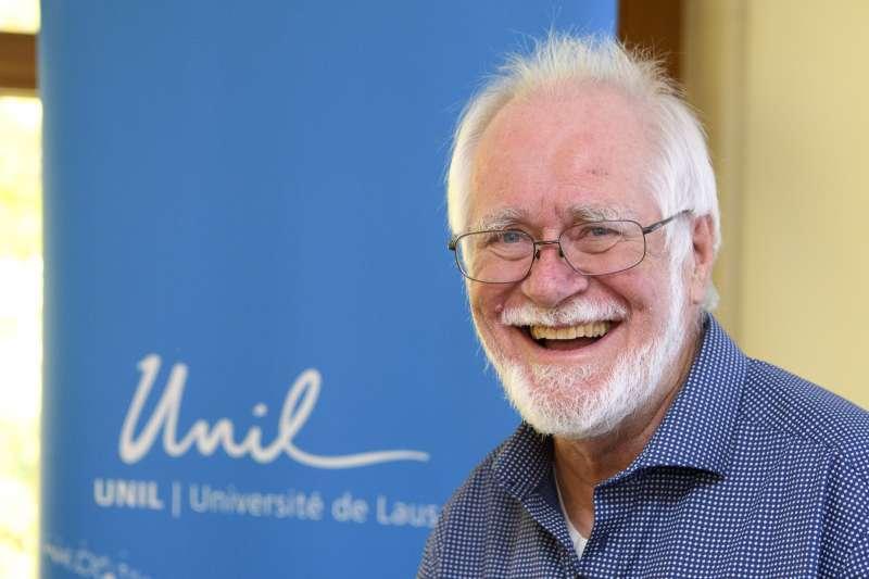 2017年諾貝爾化學獎得主,瑞士學者杜布歇(Jacques Dubochet)。(美聯社)