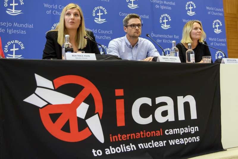 雖然「國際廢除核武運動」(ICAN)榮獲諾貝爾和平獎,但核武威脅始終沒有遠離世人。(美聯社)