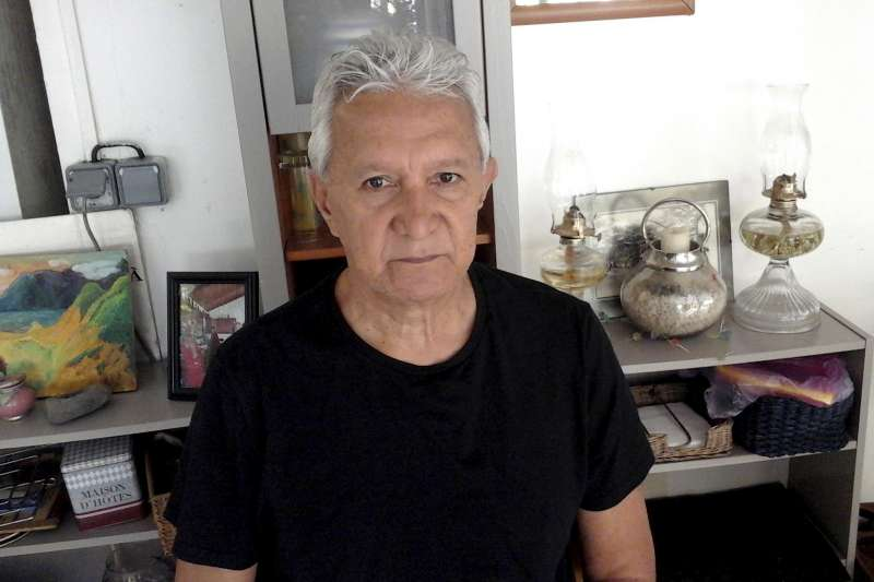 太平洋馬紹爾群島的比基尼環礁,流落大溪地的島民Roland Oldham(AP)