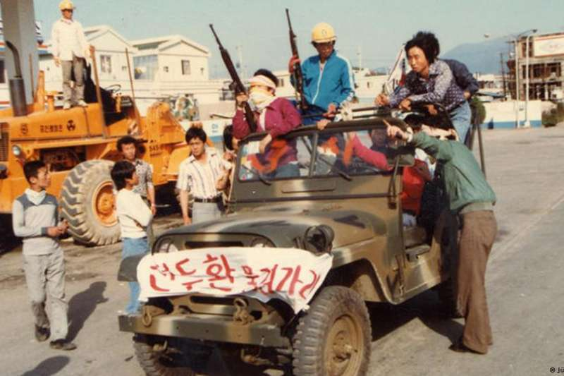 南韓電影《計程車司機》的主題:光州事件(德國之聲)