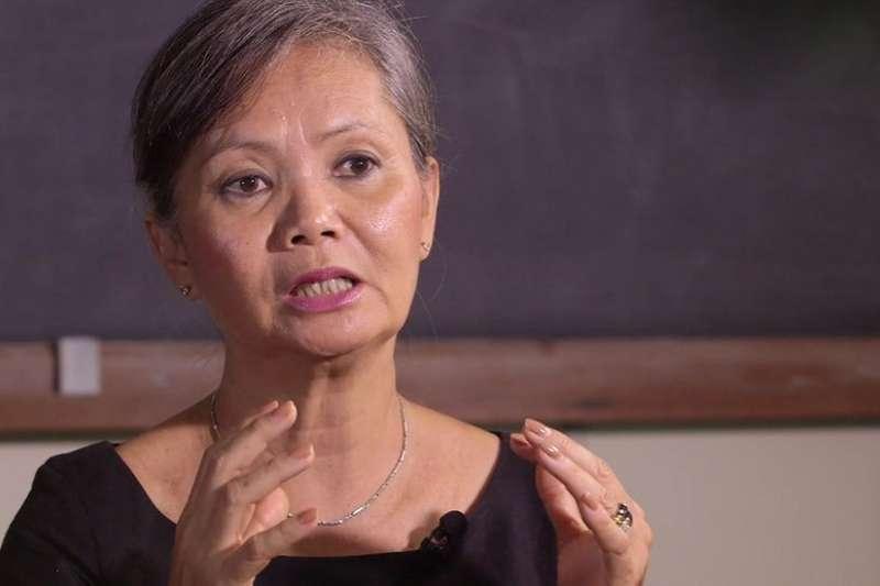 莫淑華表示,她受到警告,稱將會有人逮捕她(BBC中文網)