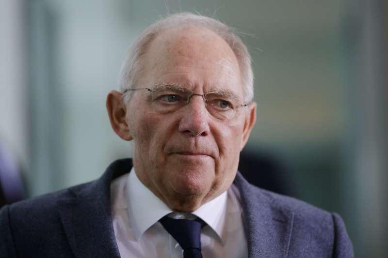 德國政壇代表人物,財政部長蕭伯(Wolfgang Schaeuble)(AP)