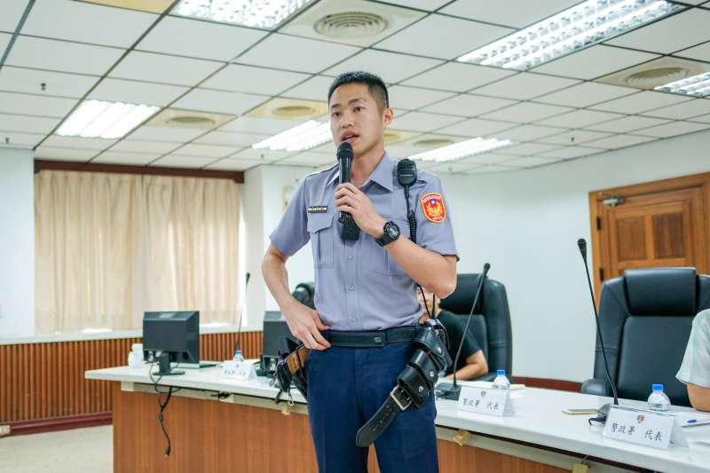 台灣警察的制服樣式一穿30年,如今終於可以換新裝(資料照,NPA署長室臉書)
