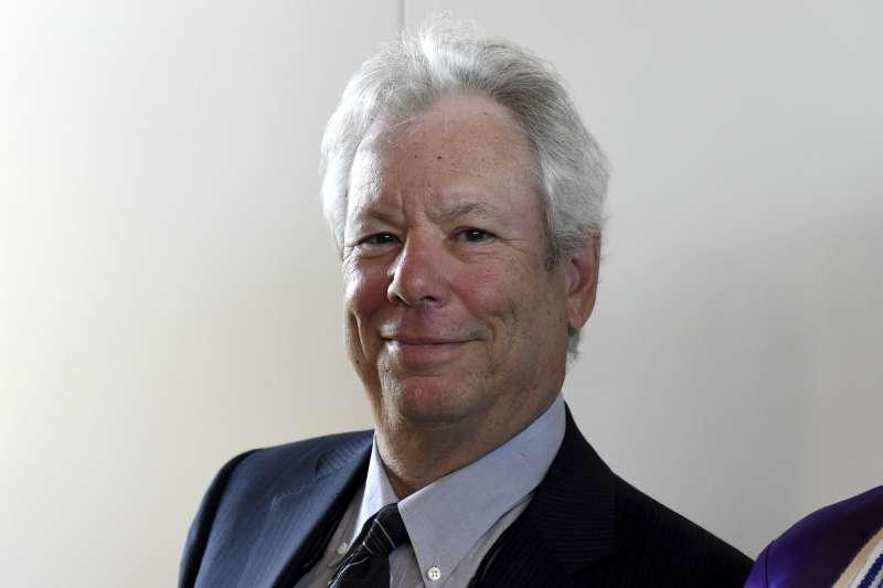 2017年諾貝爾經濟學獎得主、行為經濟學之父塞勒(Richard H. Thaler)(AP)