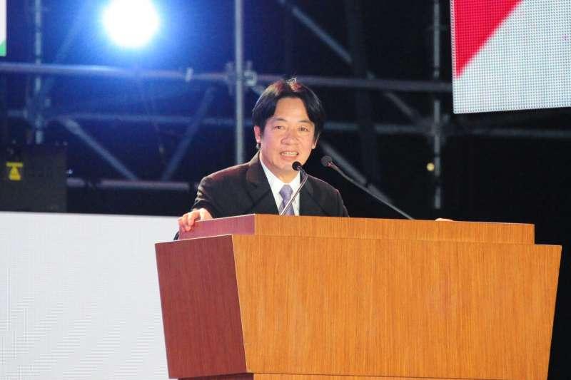 20171009-行政院長賴清德出席國慶晚會。(行政院提供)