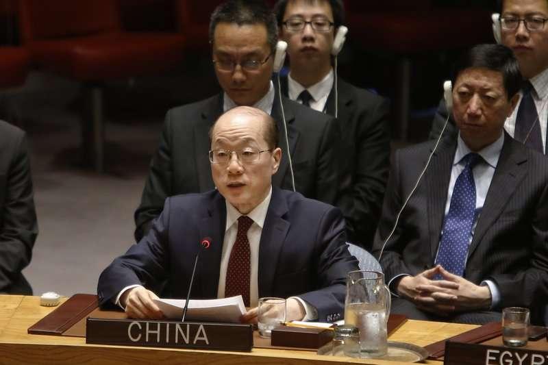 中國駐聯合國大使劉結一,證實將接任國台辦副主任。(美聯社)