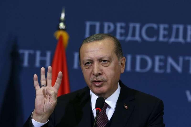 土耳其總統稱被拘捕的托普茲為間諜。(AP)