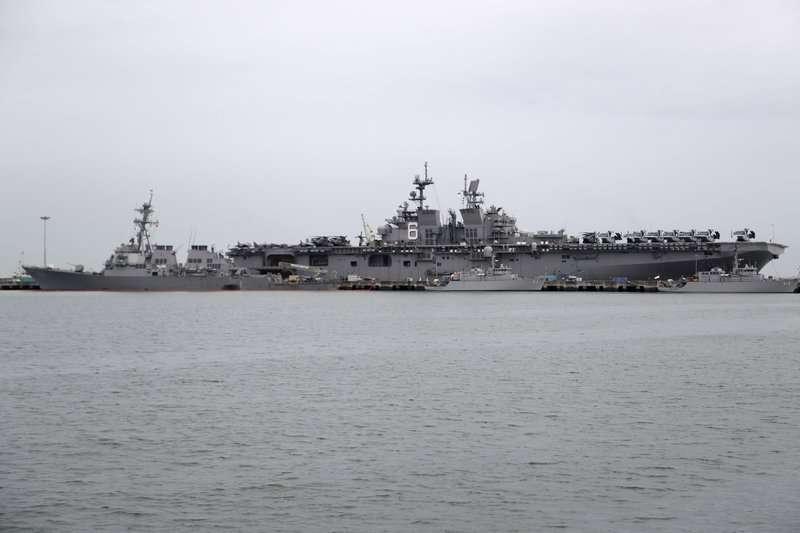 海軍時報報導顯示,擁有攔截北韓飛彈能力的希洛號,士氣一片低迷。(美聯社)
