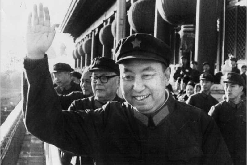 中國共產黨領導人華國鋒(AP)