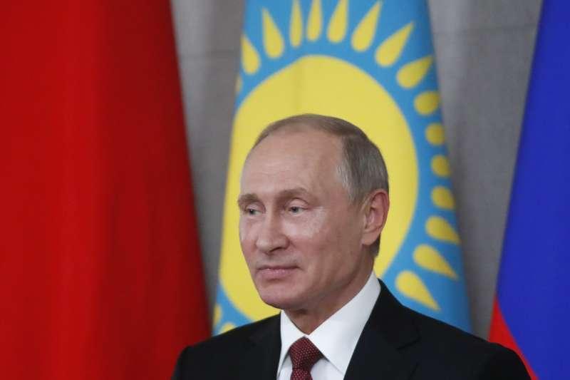 俄羅斯總統普京參加前蘇聯國家峰會。(美聯社)