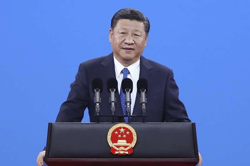 中共十九大:中國國家主席、中共總書記習近平(AP)