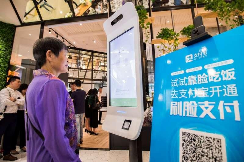 透過二維碼進行行動支付,在中國相當普遍(BBC中文網)
