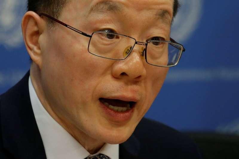 中國官方宣佈,中國常駐聯合國代表劉結一調任國台辦副主任。(BBC中文網)