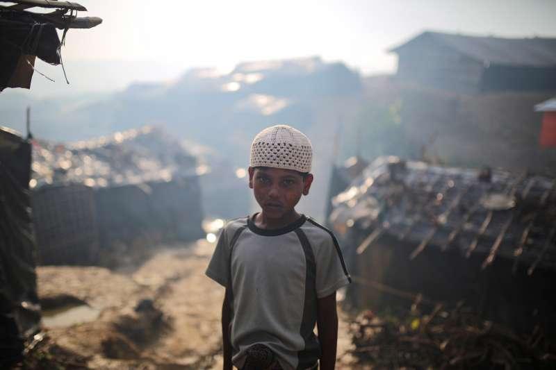 諾貝爾和平獎得主翁山蘇姬上台主政之後,緬甸政府對羅興亞難民的迫害變本加厲(美聯社)