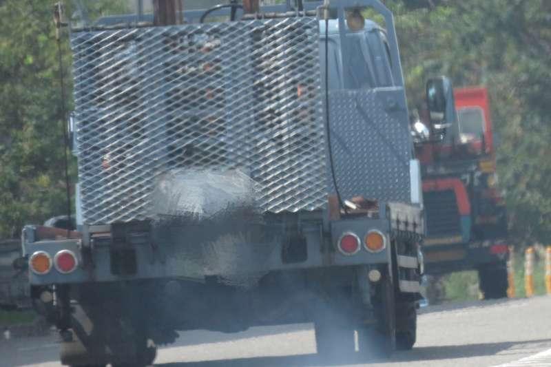台中市環保局加強老舊柴油車汰換補助。(圖/台中市政府環保局提供)