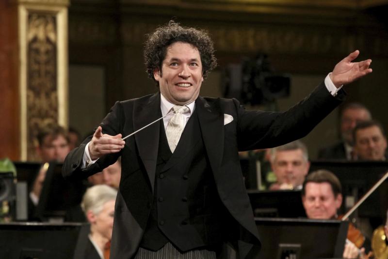 委內瑞拉裔青年指揮家杜達美(Gustavo Dudamel)(AP)