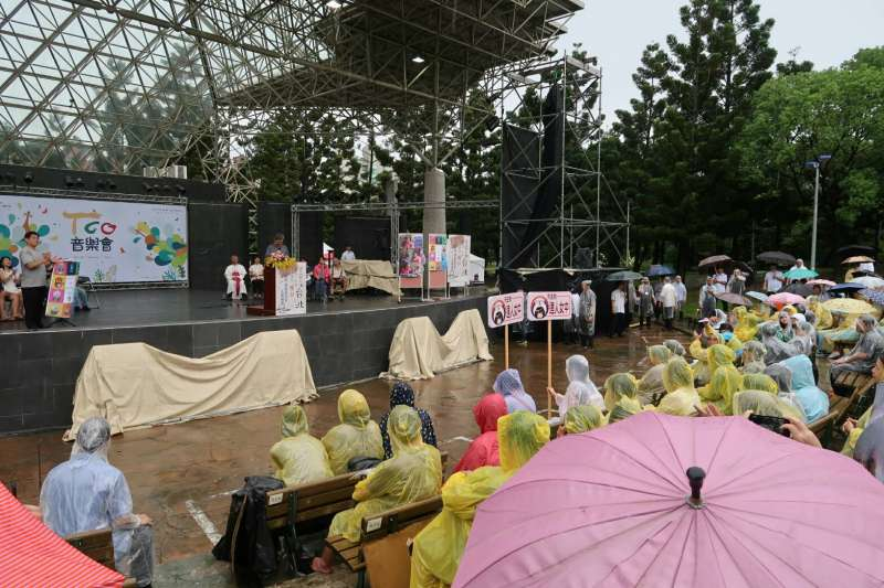 2017-10-15-副總統陳建仁15日出席《貧窮人的台北》植樹儀式。(朱冠諭攝)