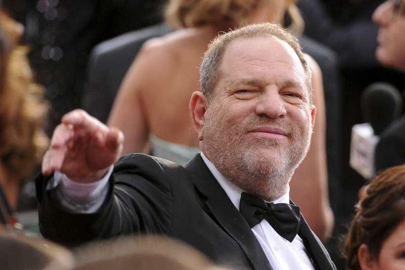 深陷性醜聞的美國好萊塢大咖製作人溫斯坦(AP)