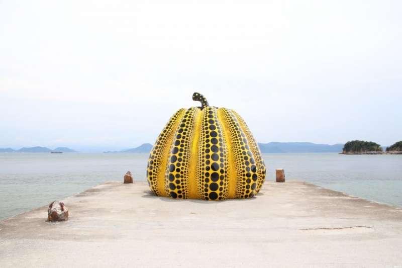 在四國的香川縣感受藝術氣息。(圖/Matcha提供)
