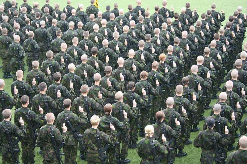 芬蘭國防軍(Karri Huhtanen@Wikipedia CC BY-SA 2.0)