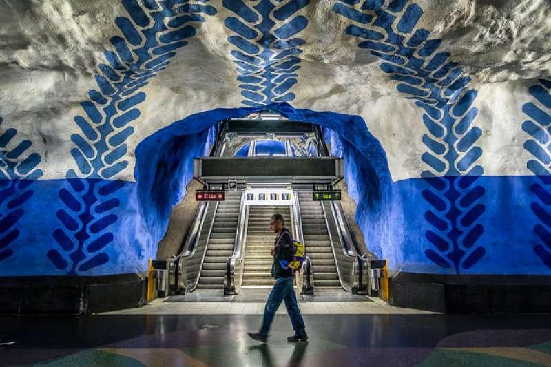 美國雜誌專文介紹世界上7個令人驚豔的地鐵站,台灣入選亞洲唯一一例,設計實力受肯定。(圖/Giuseppe Milo @flickr)