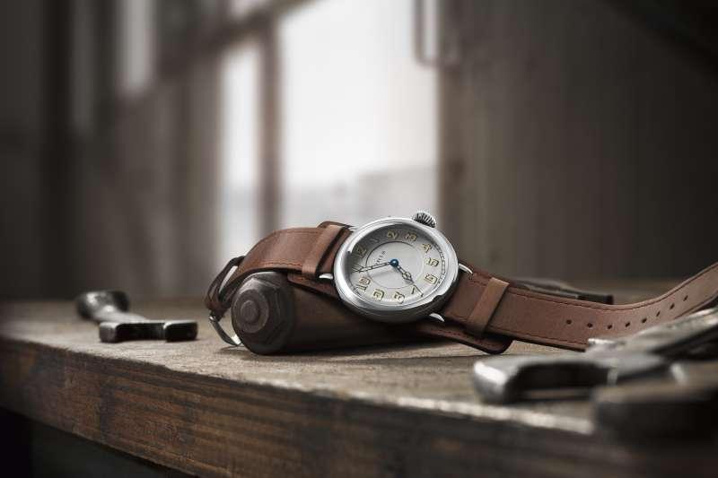 第一只的飛行腕錶Oris Big Crown 1917限量錶(圖/Oris提供)