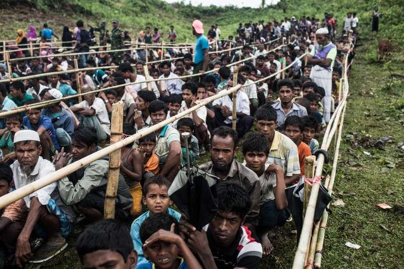 孟加拉境內的羅興亞難民營,已經人滿為患。(國際特赦組織)