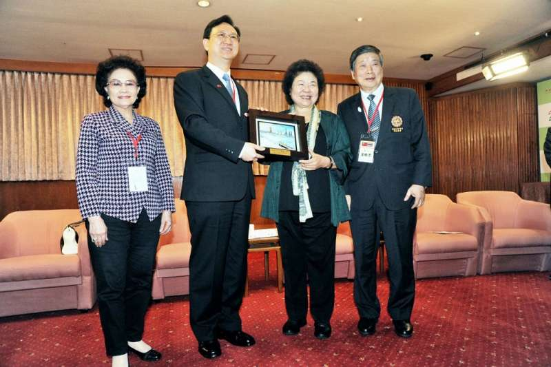 泰國僑商國家建設與投資參訪團拜會高雄市長陳菊。(圖/高雄市政府提供)
