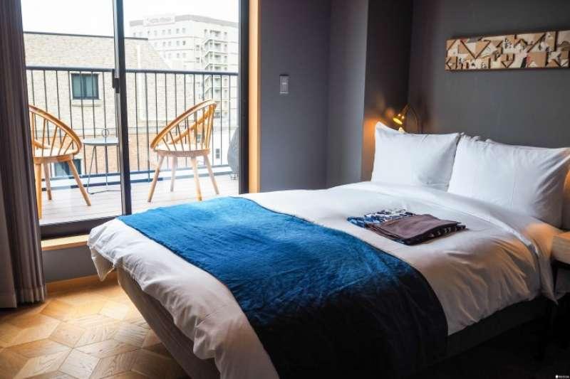 旅館「WIRED HOTEL Asakusa」兼具創意與日本風格,裝潢處處有巧思。(圖/MATCHA提供)