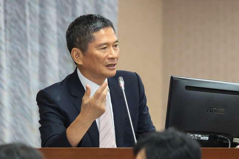 20171018-客委會主委李永得18日於立院內政委員會備詢。(顏麟宇攝)