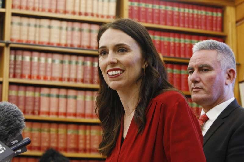 紐西蘭工黨黨魁雅頓(Jacinda Ardern)成為紐西蘭史上第3位女總理,也是第二年輕的總理(AP)