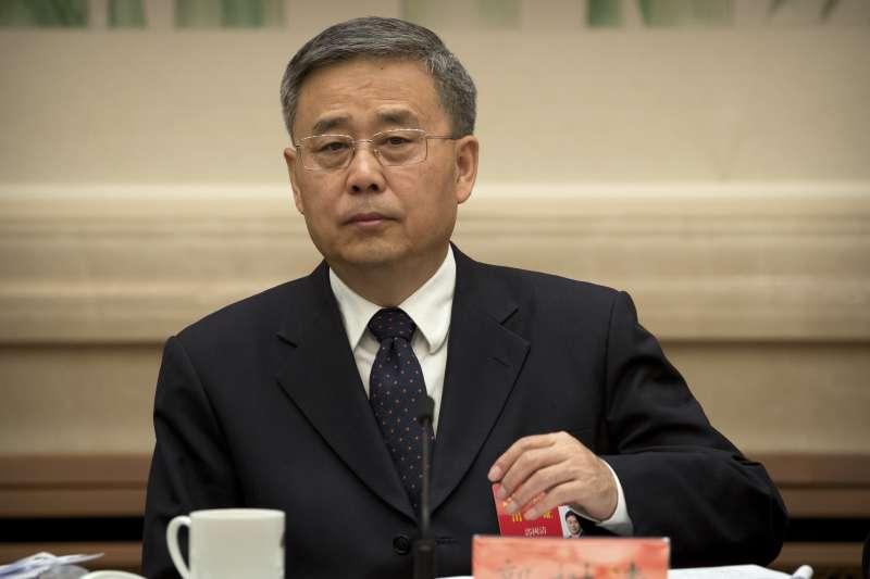 中國銀監會主席郭樹清(AP)