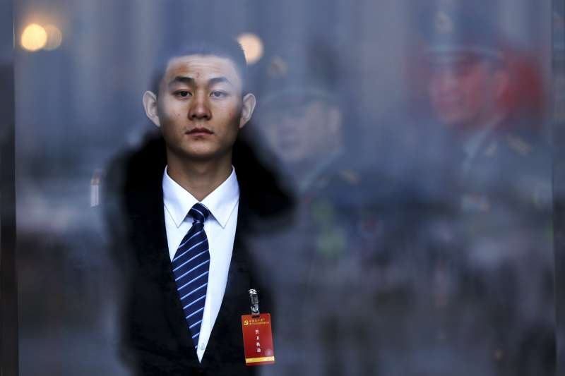 2017年10月18日,中共十九大在北京召開,作者完全無感(AP)