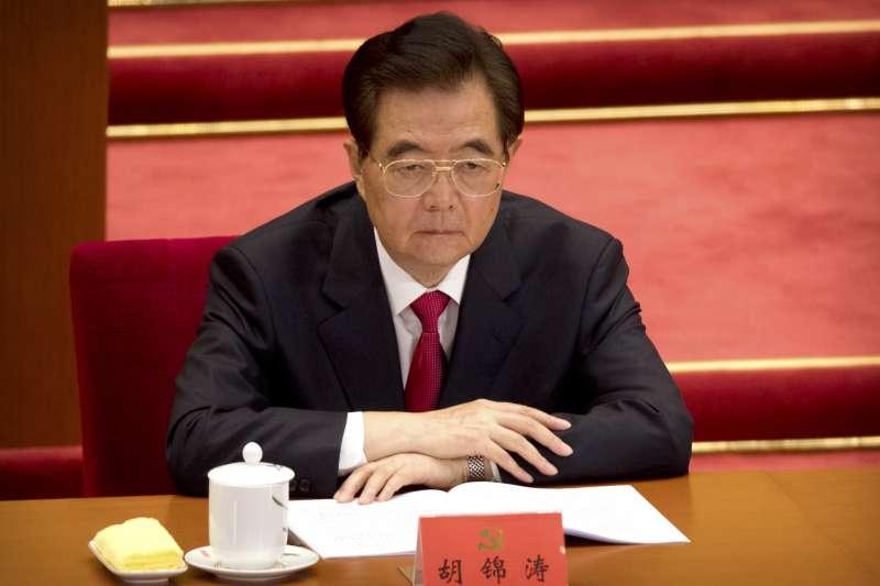 2017年10月18日,中共十九大在北京召開,胡錦濤(AP)