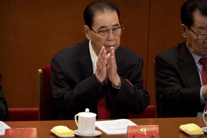 2017年10月18日,中共十九大在北京召開,李鵬(AP)