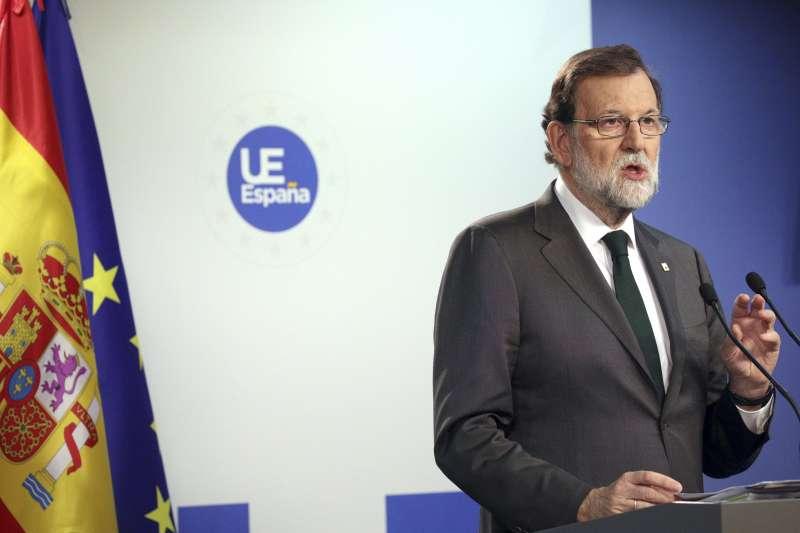西班牙總理拉霍伊反對加泰隆尼亞獨立,歐盟明言不會介入(AP)