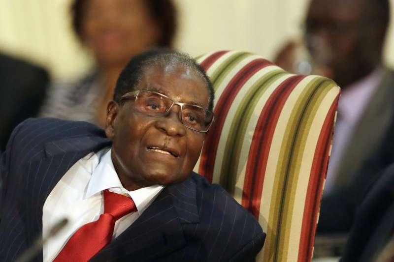 辛巴威萬年總統穆加比被世界衛生組織選為親善大使,引來國際社會一面倒的反彈。 (美聯社)