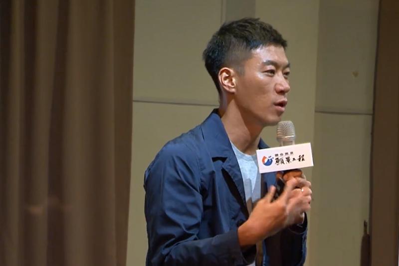 奧美廣告創意總監龔大中分享,他如何開始他的斜槓人生。(圖/擷取自Youtube)