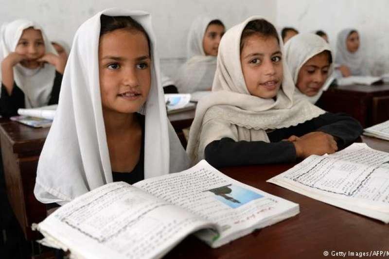 阿富汗女童受教比率持續下降。(德國之聲)