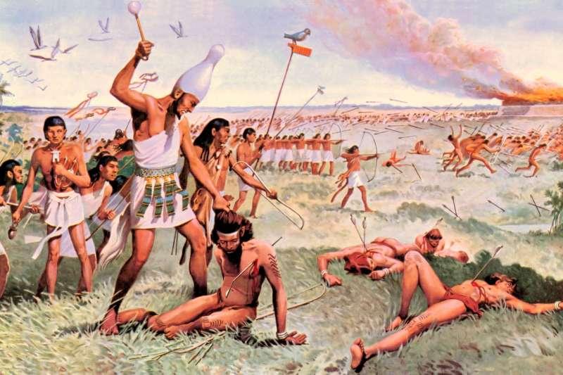過去以來,古埃及王朝的覆滅原因被認為是戰爭所致,但科學家找到了不一樣的解答。(圖/Allan Ashby@flickr)
